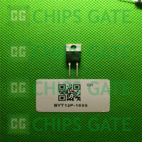 6PCS BYT12P-1000 Encapsulation:TO220,FAST RECOVERY RECTIFIER DIODE