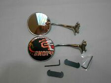 2 vintage style 4 inch round mirrors door mount mirrors side view mirror set two