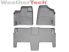 WeatherTech FloorLiner - Dodge Grand Caravan 2nd Row w/ Bucket - 2008-2012-Grey