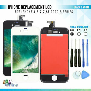iPhone 5 5C 6S 6 7 8 + SE 2020 Replacement Screen LCD Touch Digitizer Assembly