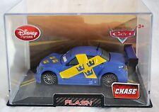 Disney Store Pixar Cars CHASE Flash Die Cast Car 1:43 Scale Hard Plastic Case