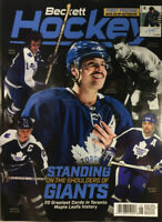 New August 2020 Beckett Hockey Card Price Guide Magazine With Auston Matthews