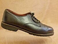 H.S. Trask & Co Men's Black Leather Oxford Dress Casual Lace Up Shoes Size 11 M