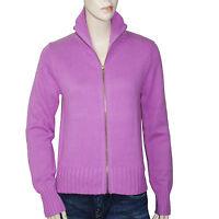 CHIPIE gilet cardigan rose parme femme taille 2  Medium  36 38