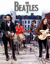 """The Beatles Rooftop Let it be Photo Print 14 x 11"""""""