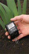 LUSTER LEAF 1818 RAPIDTEST 4-in-1 Mini Soil Plant PH MOISTURE LIGHT Meter Tester