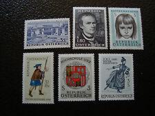 AUTRICHE - timbre - yt n° 1050 1051 1053 1064 a 1066 n** - stamp austria (A3)