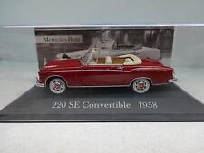 Altaya : Mercedes 220 SE Convertible ( W128 ) 1958