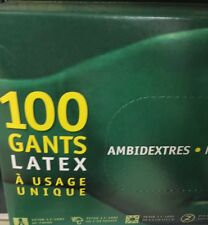 Lot revendeur destockage De 300 Gants Latex Multi Usages