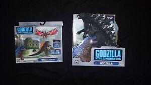 """Lot of 2 - 2019 20"""" Godzilla, Godzilla & Mothra Kings Collide Battle Pack"""