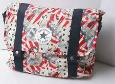 Converse A4 Satchel Bag (American Glitch Red)