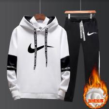 Nike Hoodie + Pants Training Gym Tracksuit Sportswear Men's Joggers Sweatshirts