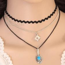 Choker Halskette Halsband Kette Collier Gold Kolye Kropfband Silber Blogger NEU