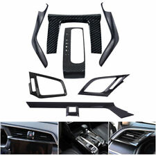 7PCS Carbon Fiber Car interior decoration Decor Sets for 2016 2017 Honda Civic