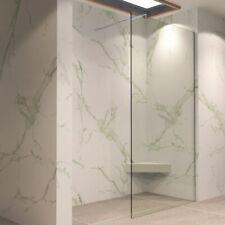 Walk In Dusche Duschwand Duschabtrennung Klarglas 30-170x200cm Edelstahl #740
