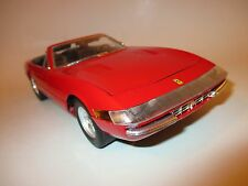 Ferrari 365 GTS/4 Cabriolet Cabrio Spyder rot rouge rosso roja red, Solido 1:18!