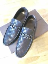 Louis Vuitton Loafers 100% Leather Casual Shoes for Men
