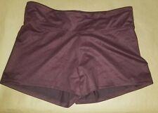Victorias Secret Sport Stretch Workout Exercise Shorts Size: Xl Dark Burgundy