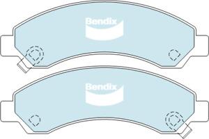 Brake Disc Pad Set Front Bendix DB2061 4WD For GREAT WALL V240 2L 2.4L X240 2.4L