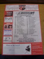 26/12/2006 Colour Teamsheet:  Brentford v Millwall  . Thanks for viewing this it