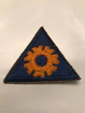 Vintage WWII US Army Air Force Engineer Triangle  Patch