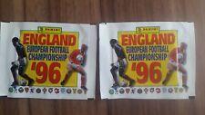Panini Euro 1996 EM 96 - 2 Bags * Packs * Bustina Rare UK Edition