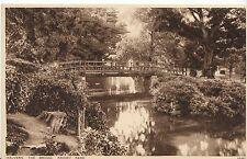 Worcestershire Postcard - Malvern - The Bridge - Priory Park   U1699