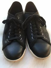 John Varvatos US 9.5 Star Mens Shoes Hattan Low Top Leather Lace Up Sneakers