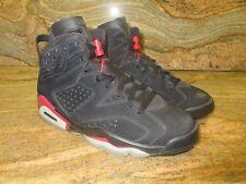 2009 Nike Air Jordan 6 VI Retro SZ 9 Black Varsity Red Infrared OG 384664-061