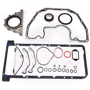 Oil Pan Gasket Set for BMW 540I 550I 645Ci 745i E63 E60 E65 4.4L 4.8L V8 DOHC NA