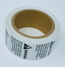 New Listing1500 Labels 2 X 2 Suffocation Safety Warning Labelsstickers 3 Rolls