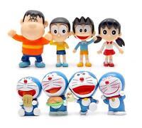 8X 2016 Cartoon Doraemon Nobita Nobi Shizuka Minamoto DIY Action Figure Toy Gift