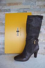 CAR SHOE Stiefel Gr 41 Boots Stivali Schuhe Shoes graubraun grafite neu UVP 495€
