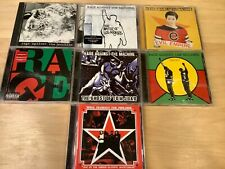 RAGE AGAINST THE MACHINE 7 CD Lot - Rare Killer Collection!