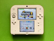Nintendo 2DS Special Edition KONSOLE weiß rot + New Super Mario Bros 2 no XL OVP