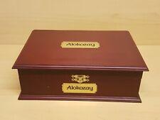 Wooden Tea Box 12 Compartment Tea Bags £19.99 include P&P