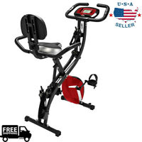 Exercise Bike Stationary Bicycle Cycling Fitness Cardio Indoor Home Workout Gym