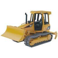Bruder Caterpillar Kettendozer Baufahrzeug, Nutzfahrzeug, Baustelle 02443 gelb