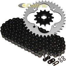 Black O-Ring Drive Chain & Sprockets Kit Fits HONDA TRX250R FourTrax 250 1988 89