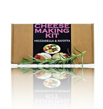 Cheese Making KIT Mozzarella & Ricotta Great Gift Present Birthday Make Your Own