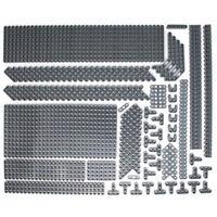 Lego 319x Genuine Technic Dark Stone Grey Studless Beams Liftarms Bricks - NEW