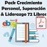 Pack Crecimiento Personal, Superación & Liderazgo 72 Libros Digitales