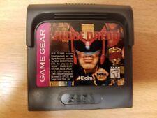 JUDGE DREDD SEGA GAME GEAR 1995 GAME ONLY