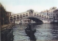 Venice - Canale Grande ITALY- Old Masters - 3D Lenticular Postcard Greeting Card