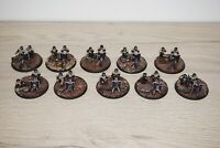 Warhammer 40k Imperial Guard / Astra Militarum Cadian Heavy Weapon Teams x 10