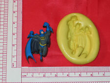 Comic Hero Character Silicone Push Mold 158 Cake Soap Chocolate Resin Candy
