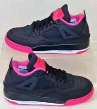 New Nike Shoes Air Jordan 4 Retro GG Denim Pink Womens US Size 10.5 UK 8.5