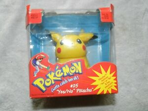 POKEMON #25 YES/NO PIKACHU WITH ELECTRONIC VOICE  NEW opened box