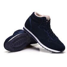 Man Women Casual Boots Platform Lace Warm Winter Plus Size Snow Wedges Shoes
