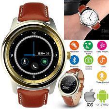 Waterproof Bluetooth Smart Watch Phone For Women Men LG ASUS Google Huawei Moto